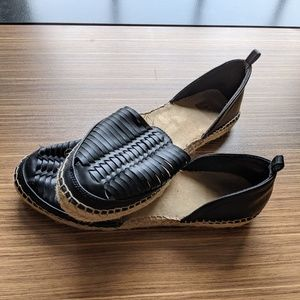 Black Espadrille Sandals